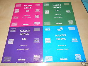 NAXOS-2002-EDITIONS-6-7-8-9-4-CARD-SLEEVED-SAMPLER-CDS-WITH-EXCERTS