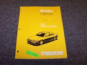 1996 Mazda Millenia Sedan Electrical Wiring Diagram Manual ...