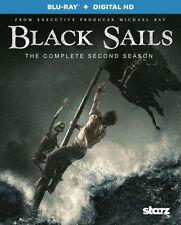 BLACK SAILS: SEASON 2 - BLU RAY - Region A - Sealed