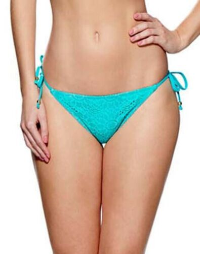 Lepel Summer Days Tie Side Bikini Brief Black//Aqua BNWT