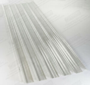 Details about BOX PROFILE GRP FIBREGLASS CLEAR ROOF LIGHTS - ROOFLIGHTS /  ROOFING SHEETS