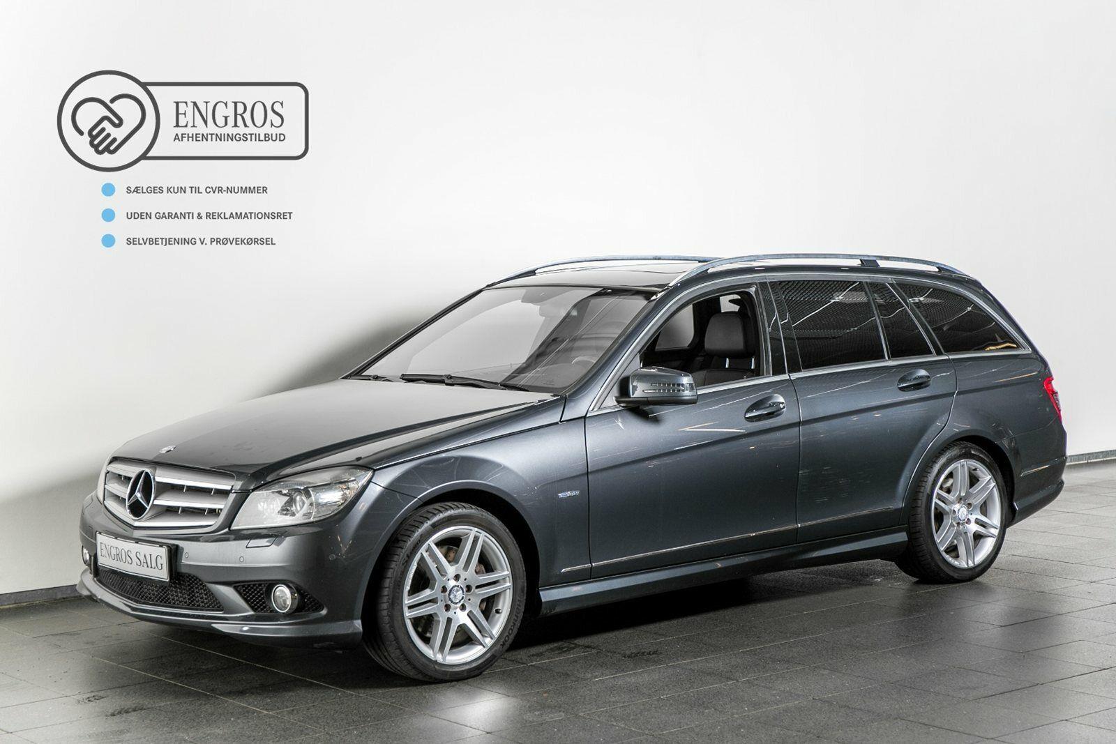 Mercedes C350 3,0 CDi stc. aut. BE 5d
