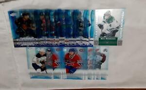 19/20 20/21 Upper Deck Tim Hortons NHL Hockey - CLEAR CUT PHENOMS - Set U PICK