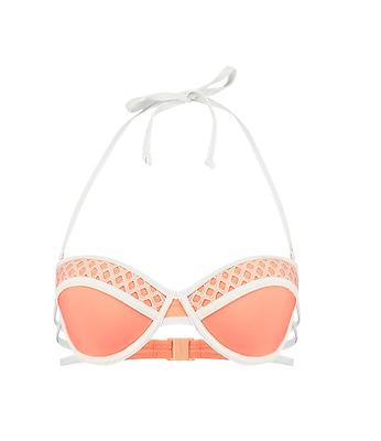 40bbc3bc8b3f TWINTIP Bikini top - ivory / orange (Z2-30) | eBay