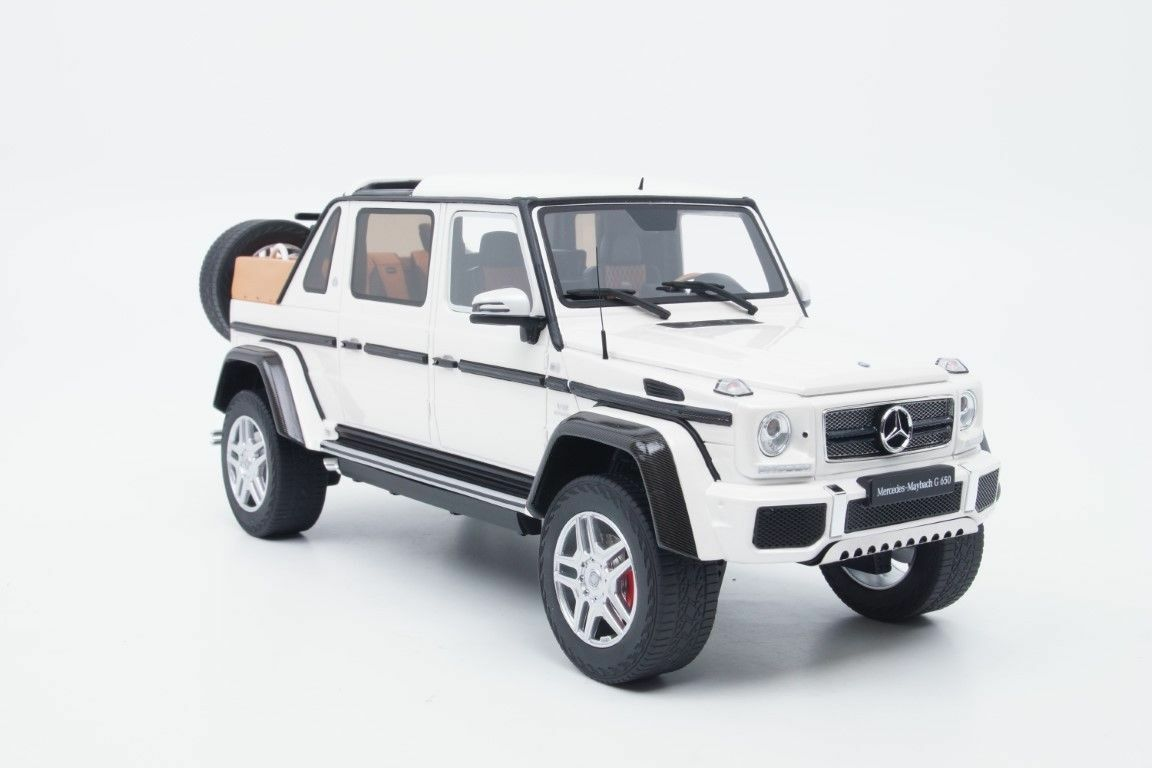 GT Spirit Mercedes-Benz Maybach g650 LANDAULET blanc 1 18 Asia Special Edition