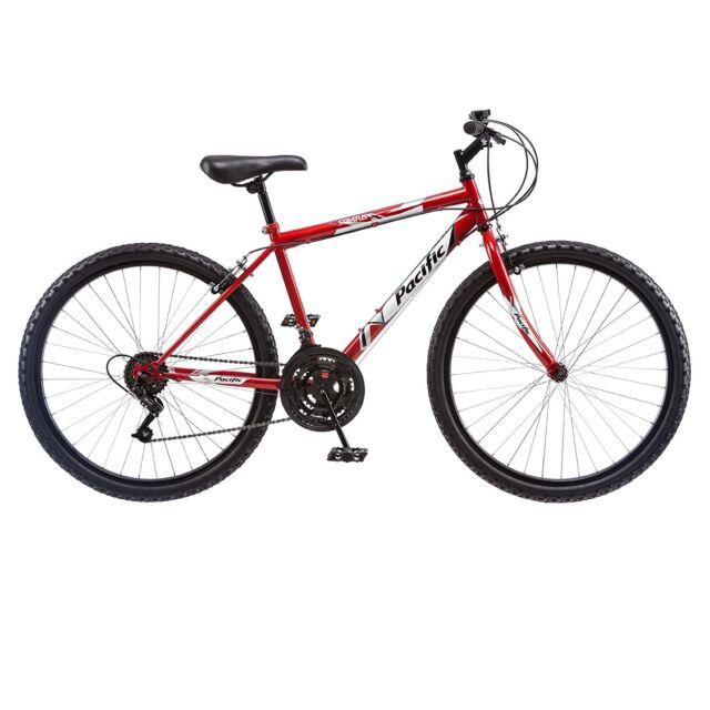 All Terrain Bike >> Pacific Mens 264152pc 26 Inch Stratus Steel Rigid Mountain Bike Red