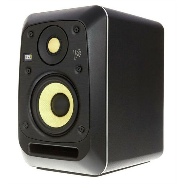 KRK V4 S4 cassa diffusore monitor bi-amplifitato 85 watt x studio broadcast