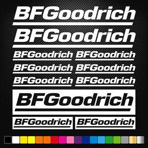 Compatible-BF-GOODRICH-11-Stickers-Autocollants-Adhesifs-Moto-Voiture-Sponsor