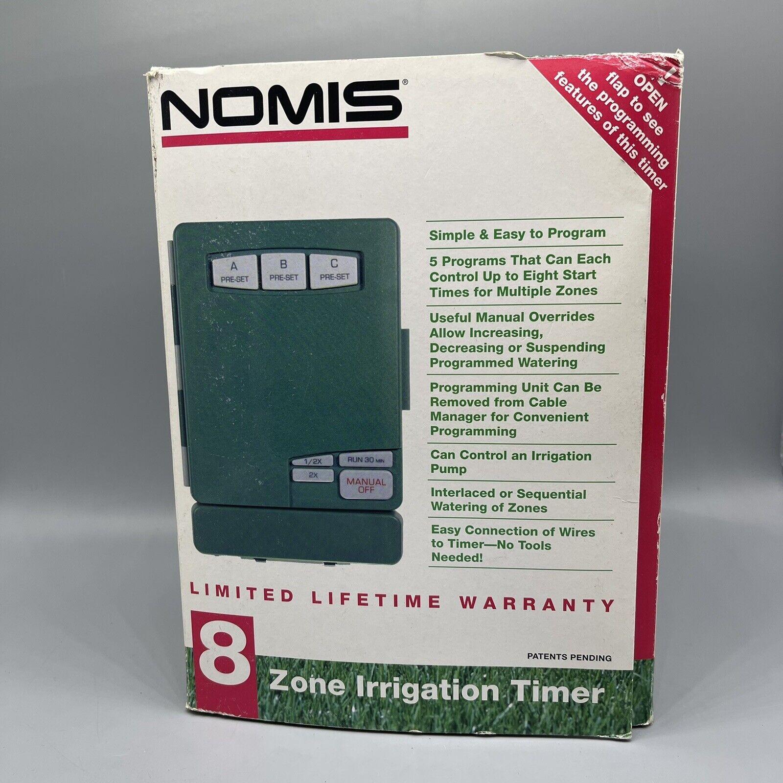 Nomis 8 Zone Irrigation Timer Watering Timer