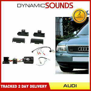 CTKAU06-CD-Stereo-Radio-Facade-Kit-Complet-pour-Audi-A4-A6-A8