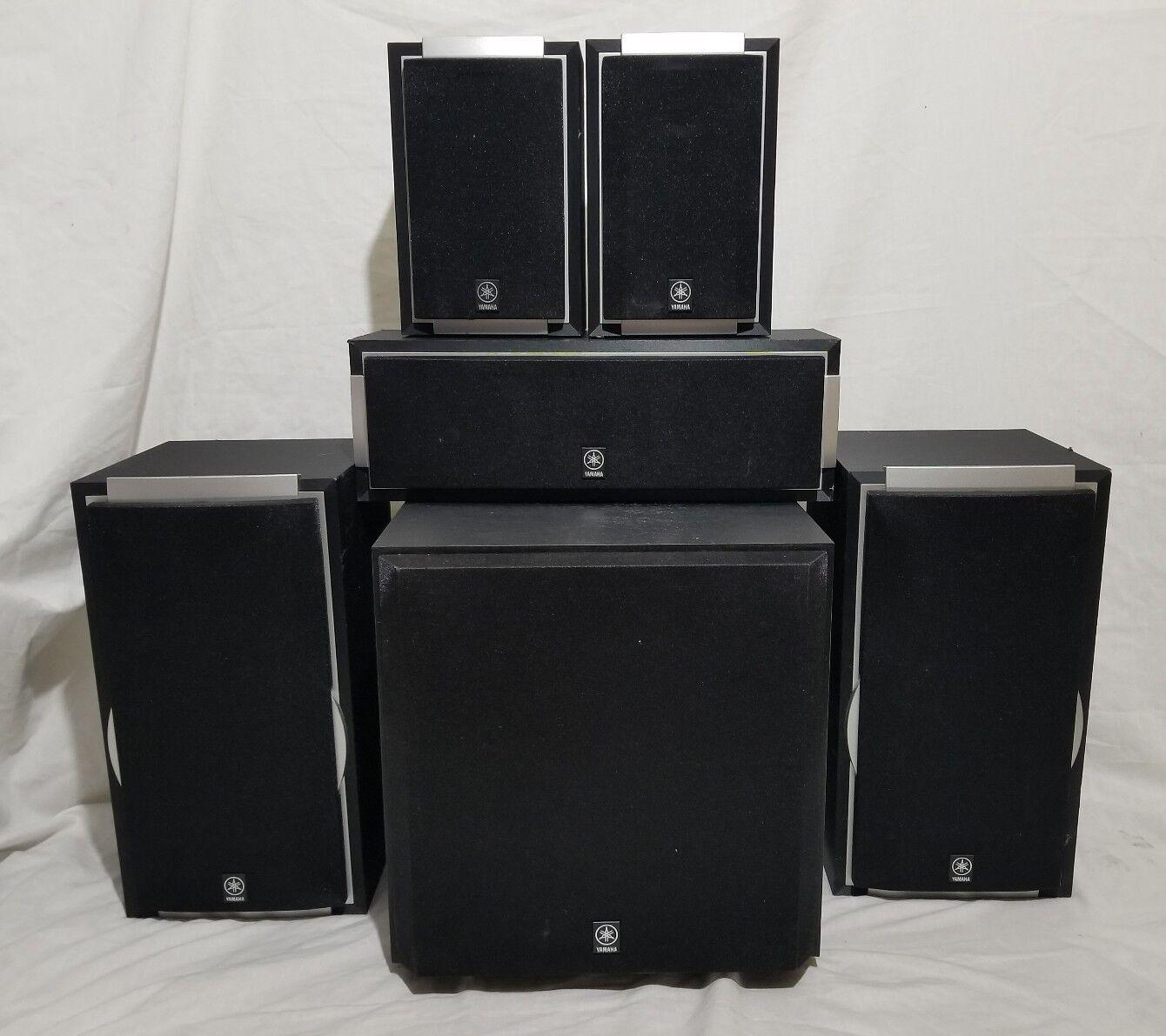 Yamaha SWP3600 NSAP5700 Speaker Bundle 5.1