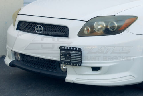 EOS For 05-10 Scion tCFront Bumper Tow Hook License Plate Mount Bracket