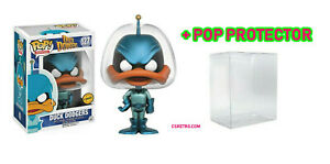 FUNKO POP LOONEY TUNES DUCK DODGERS K-9 VINYL FIGURE FREE POP PROTECTOR