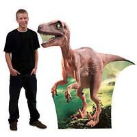 Dinosaur Standee Velociraptor Large Photo Prop Cardboard Cutout Prehistoric