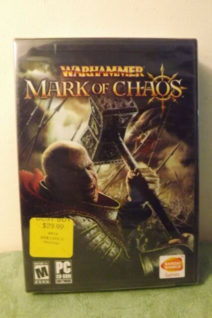 Warhammer: Mark of Chaos (PC, 2006) New and Sealed