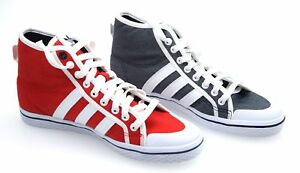 Image is loading ADIDAS-WOMAN-SNEAKER-SHOES-CASUAL-FREE-TIME-COTTON- fe6edba1e7064