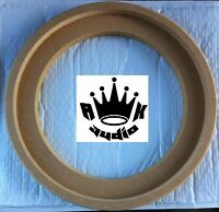 13.5 Jl Audio 13tw5 Fiberglass Speaker Subwoofer Ring 1 Mdf Sub Box Ring