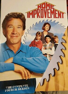 Home Improvement complete Season 4 DVD SEALED Tool time