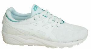 Asics Gel-Kayano Trainer EVO Damen Schuhe Schnürschuhe Textil weiß H7Q6N 0101 M4