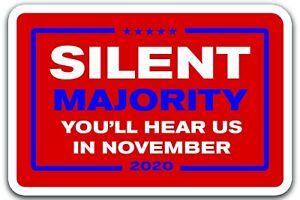 Die-schweigende-Mehrheit-November-2020-Donald-Trump-Praesident-Decal-Aufkleber