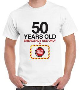 Image Is Loading Don 039 T Panic 50th Birthday Men