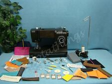 HEAVY DUTY TOYOTA Sewing Machine & WALKING FOOT SEWS 12 LAYERS OF DENIM