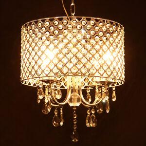 Das Bild Wird Geladen Kristall Kronleuchter  Haengelampe Deckenlampe Luester Pendelleuchte Designleuchte