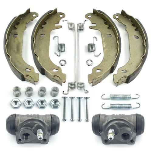 Bremsbacken Set 2x Radzylinder Trommelbremse hinten Citroen Xsara Peugeot 306