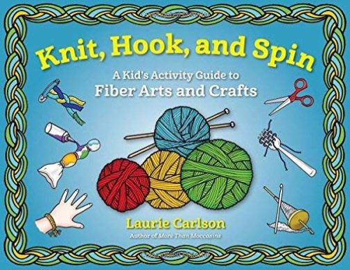 Carlson Laurie-Knit Hook And Spin (US IMPORT) BOOK NEW
