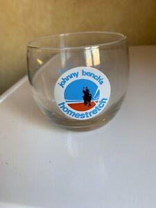 JOHNNY-BENCH-Cincinnati-Reds-Homestretch-Restaurant-Sport-Bar-Tumbler-Glass