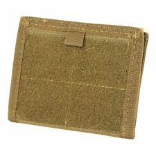 CONDOR MOLLE Tactical Nylon ID HOLDER Panel Wallet  ma39-498 COYOTE BROWN
