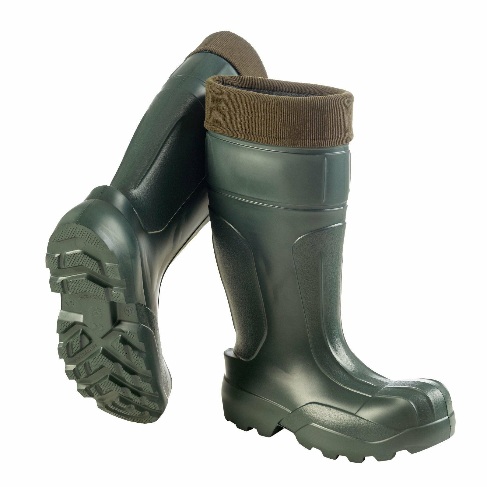 Crosslander Uomo Toronto - verde scarponi invernali Stivali di gomma pesca