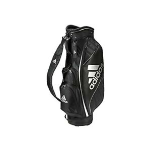 Adidas Golf Men's Caddy Bag BG330 Black / White