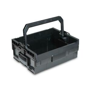 Sortimo Werkzeugkoffer Systemkoffer LT-Boxx 170 schwarz passend zu Bosch