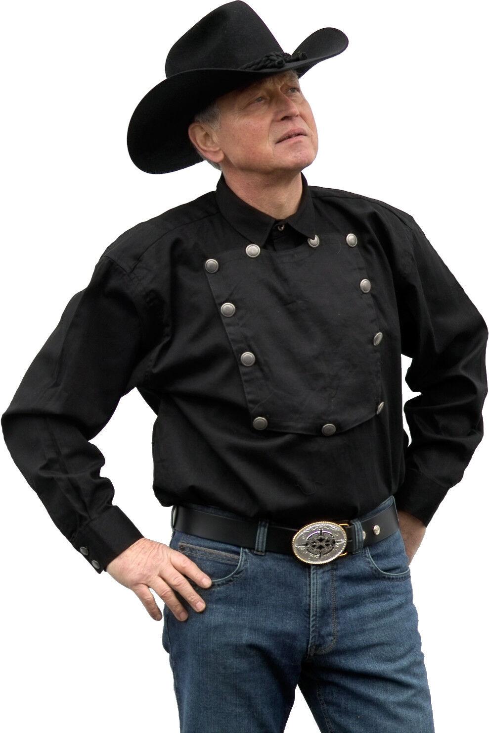 Westernhemd John Wayne rot oder oder oder schwarz Shirt für Western Reitsport Cowboy Party 1f0722