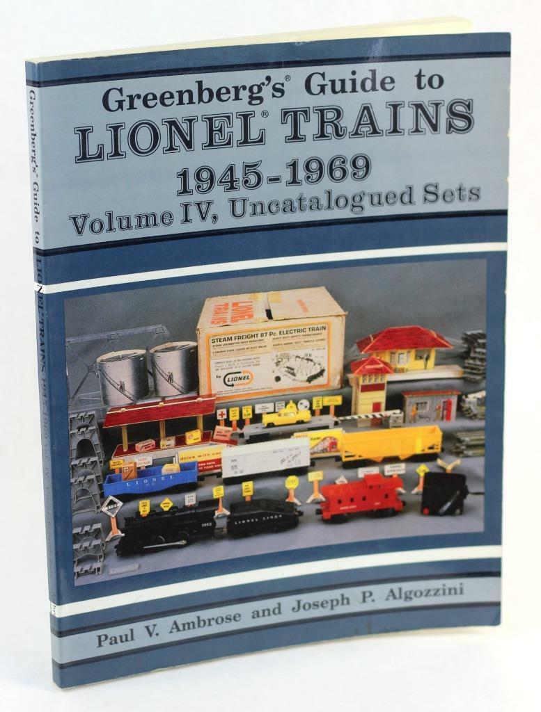 Greenberg's Guide to Lionel Trains 1945-69 Volume IV Uncatalogued Sets P Ambpink