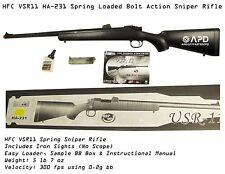 HFC HA 231 VSR11 Airsoft Bolt Action Sniper Spring Rifle Used