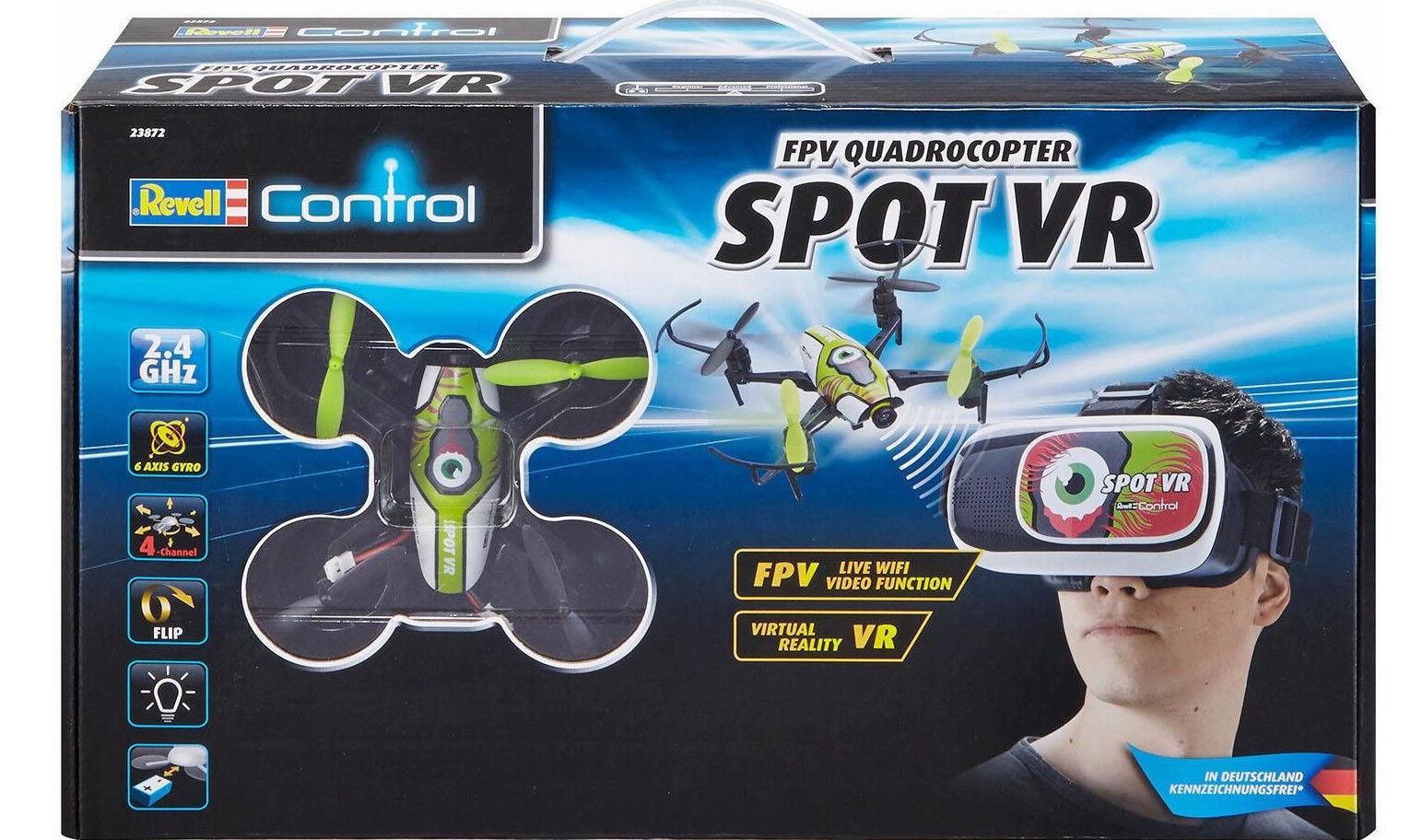 Rc Quadrocopter mit Kamera f. Virutal Reality