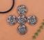 10X-Bohemian-3D-Flower-Turquoise-Conchos-For-Leather-Craft-Keychian-Wallet-Decor miniatuur 6