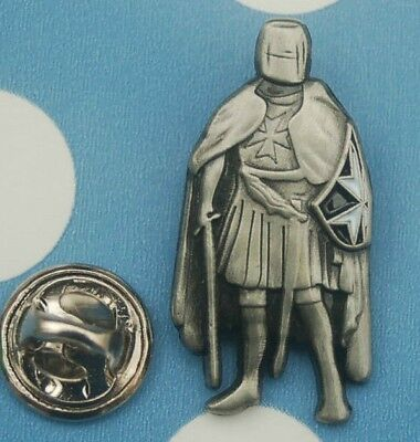 Ritter Kreuzritter Templer Pin Anstecker Badge Button Sticker # 79