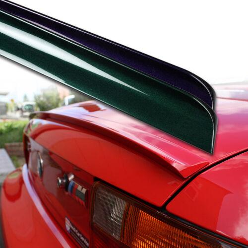 Fyralip Custom Painted Trunk Lip Spoiler For Chevrolet Malibu Sedan 04-08