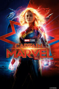 Authentic-Captain-Marvel-Blu-ray-amp-Digital-Copy-Code-Pre-Order-Brie-Larson