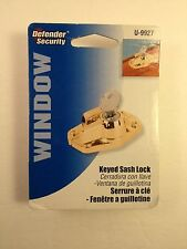 PRIME-LINE PRODUCTS U 9927 WINDOW SASH LOCK KEYED HEAVY DUTY Defender Security