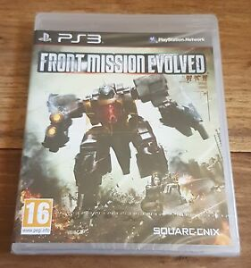 FRONT-MISSION-EVOLVED-Jeu-Sur-PS3-Playstation-3-Neuf-Sous-Blister-VF