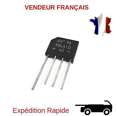 Redresseur de diode de pont 10PCS 2W10 2 FE