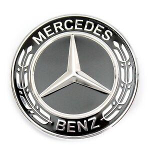 mercedes benz stern emblem schwarz motorhaube w463 w461. Black Bedroom Furniture Sets. Home Design Ideas