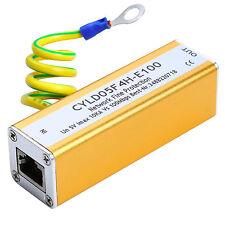 Network RJ45 Adapter Ethernet LAN Surge Protector Lightning Protection Arrester