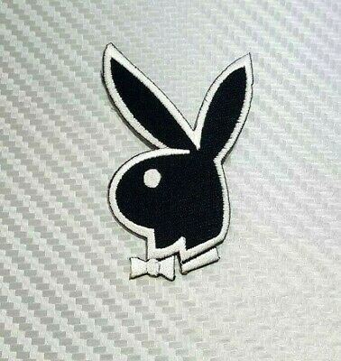 2X BUNNY RABBIT *Defects* Embroidered Sew Iron On Cloth Patch Badge APPLIQUE