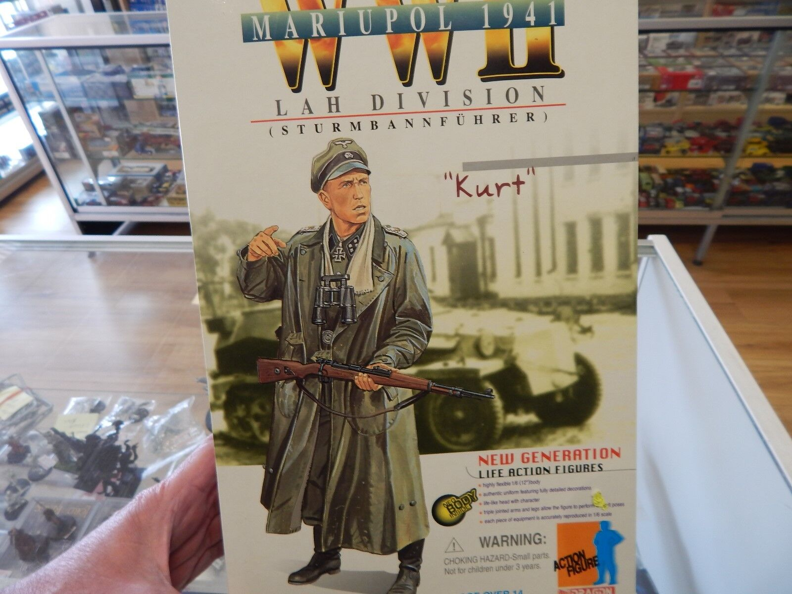 Dragon 12  action figure   Kurt   LAH Division