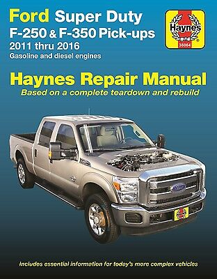 2011-2016 Ford F250 F350 Diesel 4X4 Superduty Repair Service Shop Manual 2569